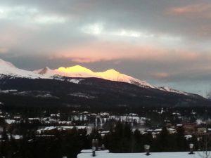 Breckenridge at dawn