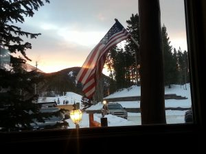 Breckenridge at sunrise