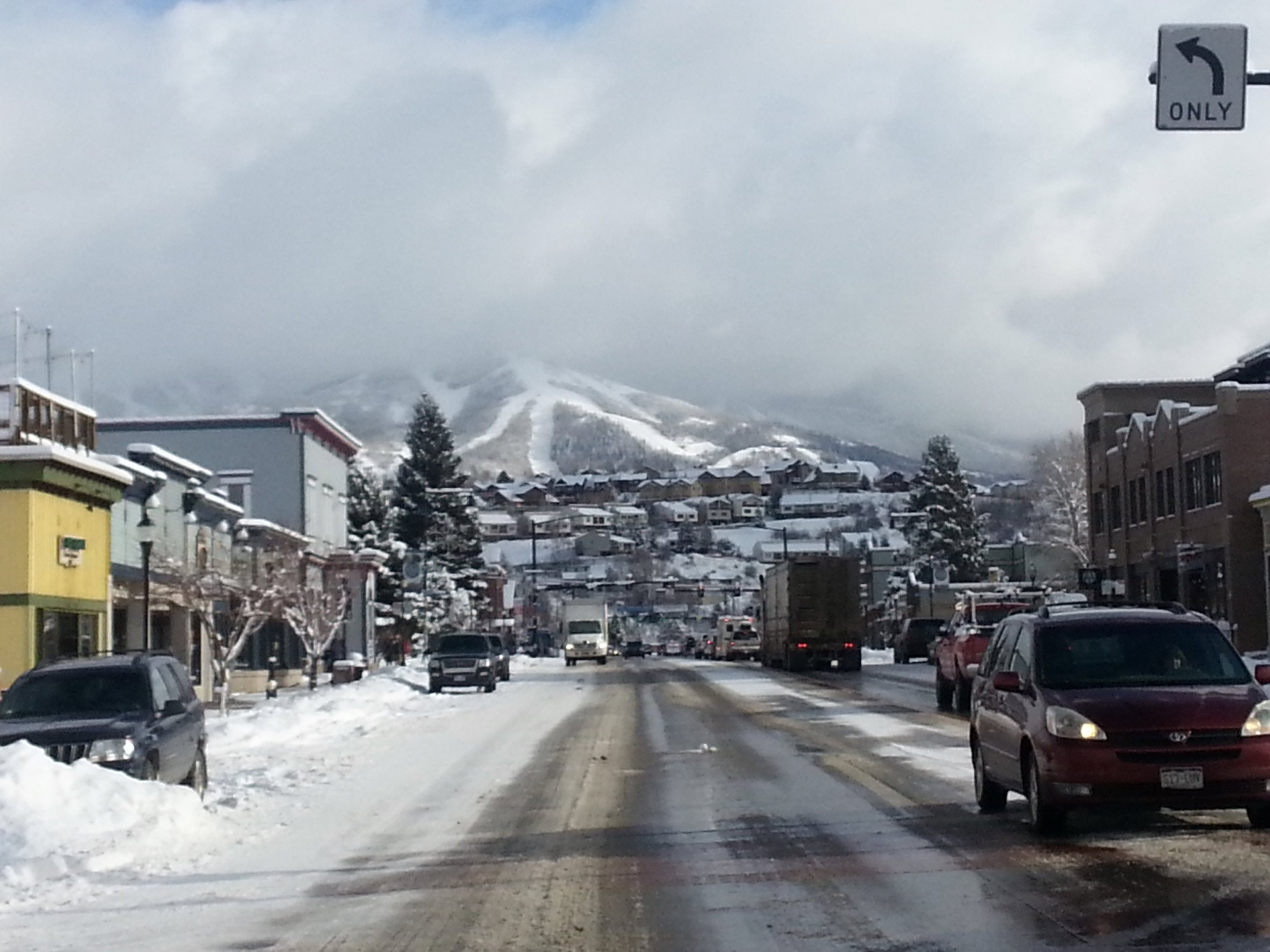 Winter in the Colorado Rockies while living in my RV