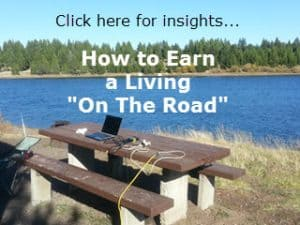 earning a living on the road