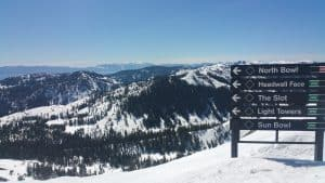 Springtime at Sugar Bowl