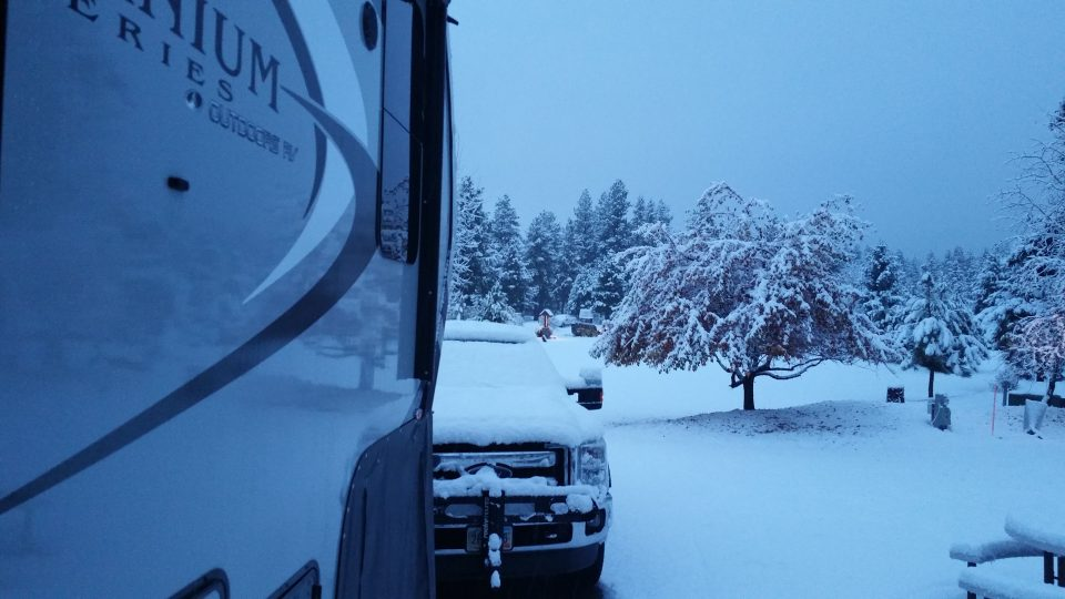 Dateline: McCall, Idaho – EARLY SNOWSTORM!!