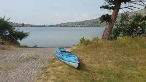 Ring Lake near Dubois Wyoming
