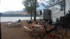 evans campground