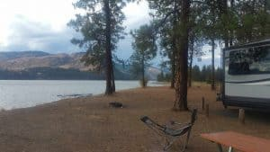 Evans Campground, Evans, Wa.