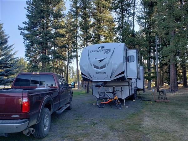 boondockers welcome RV campsite in mccall idaho