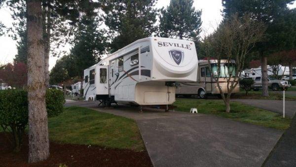 Pheasant Run RV Park, Portland, Oregon