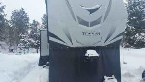 winter rv camp break down