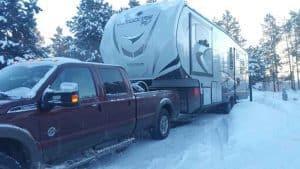 winter rv camping