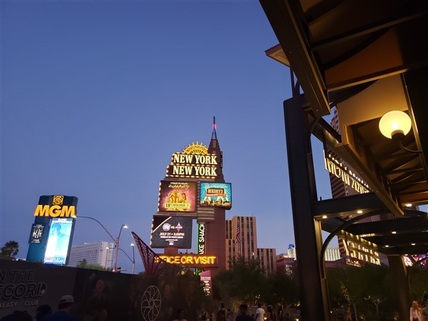 time off from freedomfest - exploring vegas