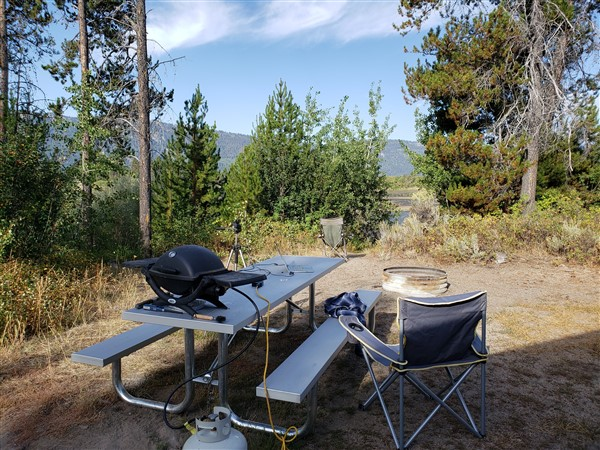 rv camping and earning a living on the road
